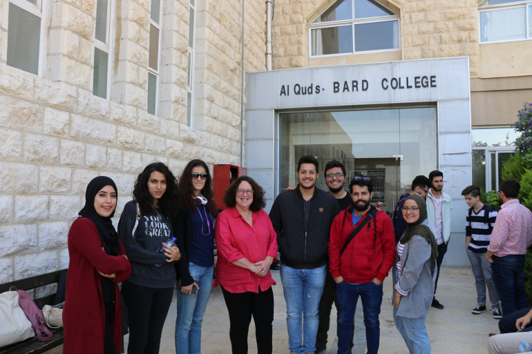 Professor Peggy Ahwesh visited Al-Quds Bard College for Arts and Sciences